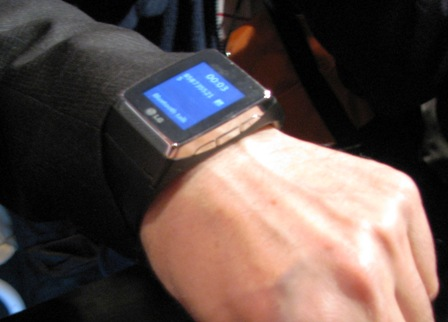 Dick Tracy Watch from LG