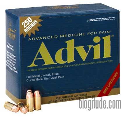 New Advil® 9mm!