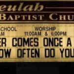 The Church Wants to Know