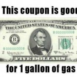 Government Gas Coupons Now in Circulation