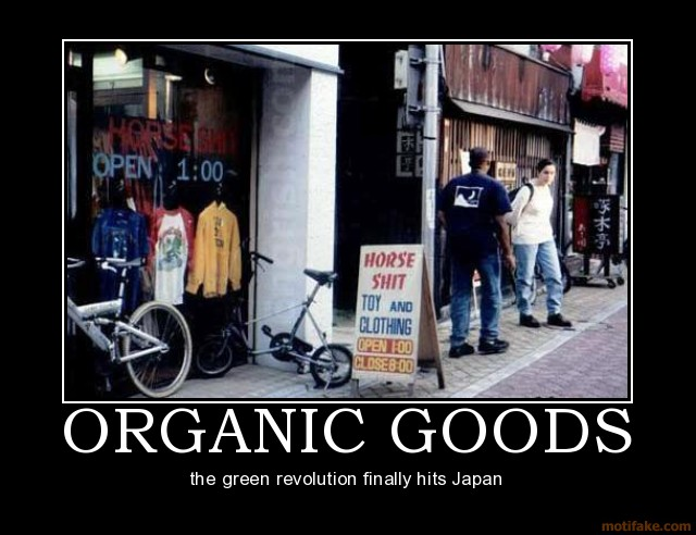 Organic Horse Shit