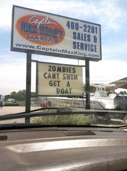 ZombieSwim