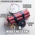 Would Not Bang