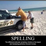 Spelling Mistake Causes Arrests