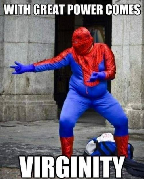 With Great Power Comes: Virginity
