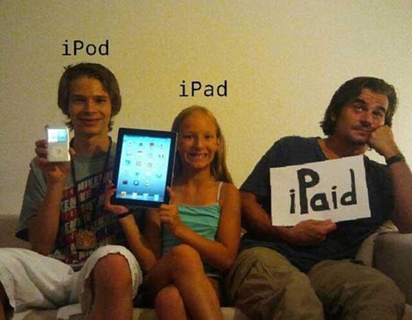 iPod ... iPad ... iPaid