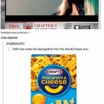 Nicki Minaj Poses as Spongebob Squarepants