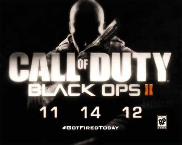 Call of Duty: Black Ops II - 11/14/2012 - #LostMyJobToday
