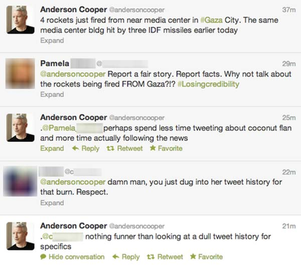 Anderson Cooper: Real News from Gaza