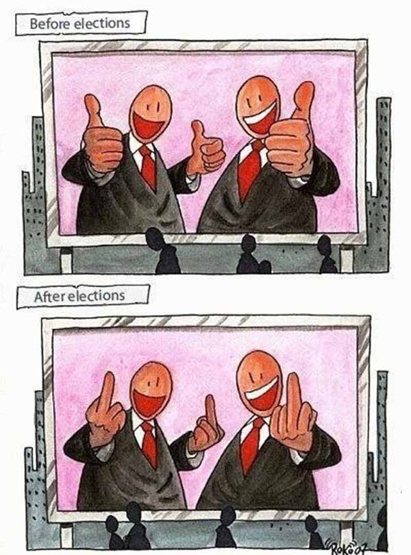 Elections: Before & After