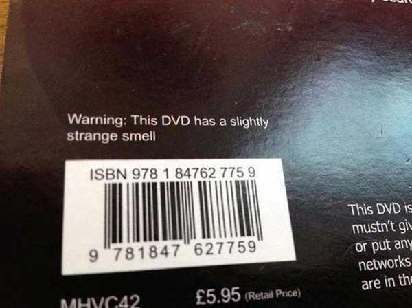 "GCSE Maths Tutorials DVD-ROM, Higher Level: ""Warning: This DVD has a slightly strange smell."""