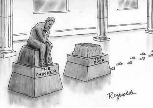 The Thinker vs. The Doer