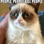 Grumpy Cat on Gun Control