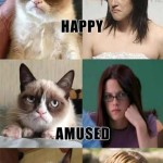 Grumpy Cat Does Kristen Stewart Impersonations