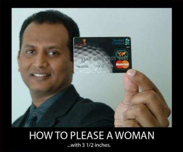 How to Please a Woman ... with 3 1/2 inches.