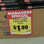 Manager's Special at the Grocery Outlet