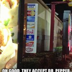 Dr. Pepper Accepted at McDonald's