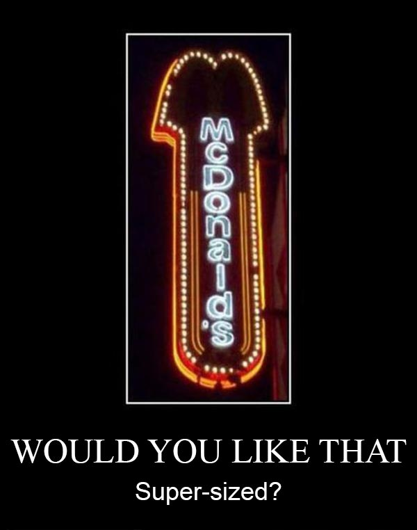 McDonald's Logo: Would You Like That Super-sized?