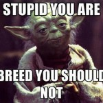 Master Yoda Speaks About Breeding