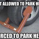 Parking Ordinance Irony