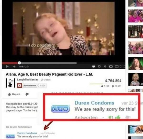"Durex Comments on Honey BooBoo: ""We are really sorry for this."""