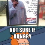Come to the Meat Department?