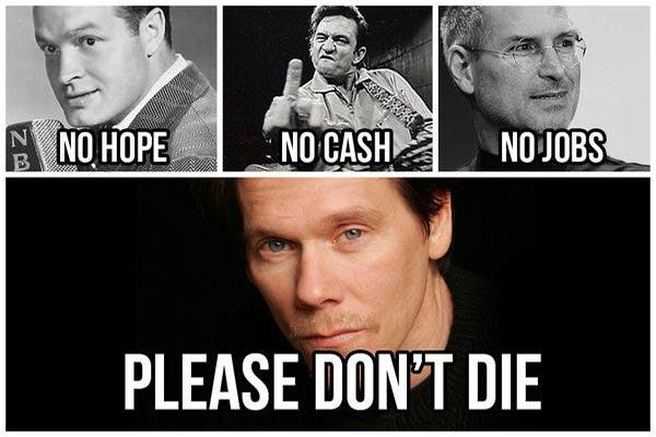 No Hope.  No Cash.  No Jobs.  No Bacon?  Please Don't Die!