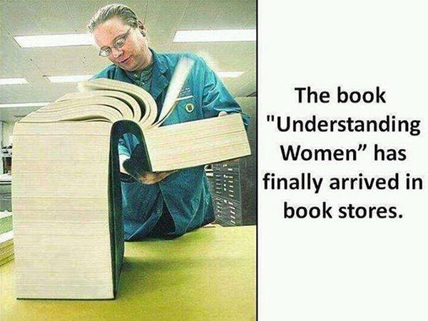 """The Book """"Understanding Women"""" has finally arrived in book stores."""
