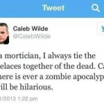 Laughter Important During Zombie Apocalypse