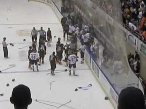 Hockey Game Called for … Fighting?