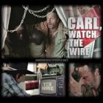 The Walking Dead: Carl Can't Follow Instructions