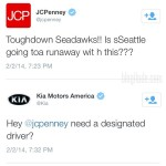 JCPenney Drunk for Superbowl