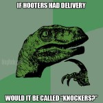 What if Hooter's Had Delivery?