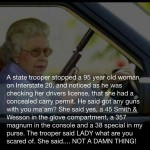 95 Year Old Woman with Carry Permit