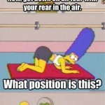 The Latest Yoga Position