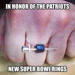 Patriots Receive Super Bowl Rings