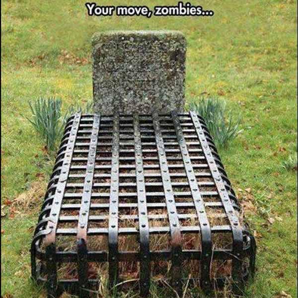 Zombie-Proof Grave