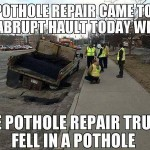 Warm Weather for Street Repairs