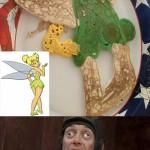 Tinkerbell Pancake Fail