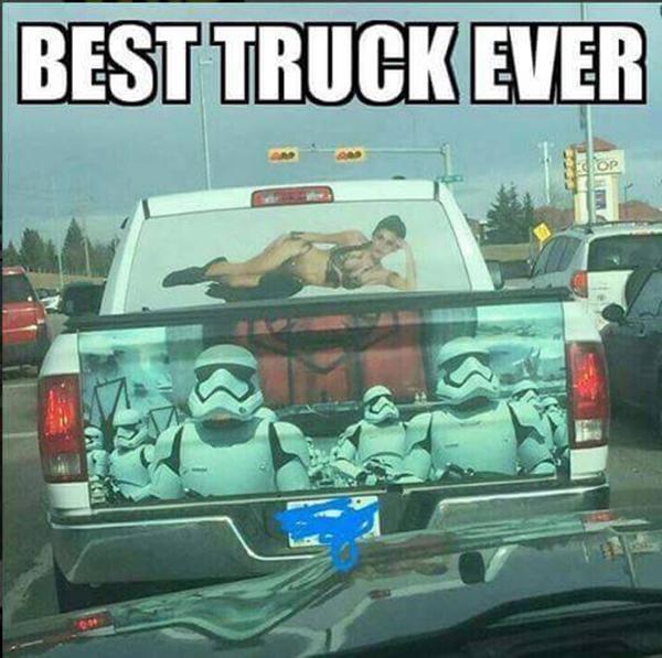 "Star Wars Stormtroopers: ""Best Truck Ever"""